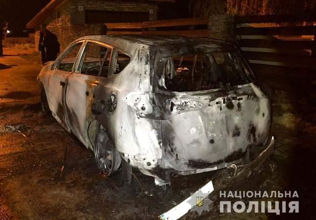 Пожежа, Рівне, підпал, авто, секретар Рівненської міськради