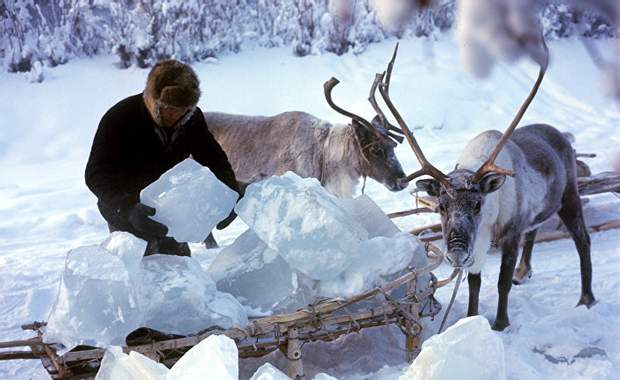 Оймякон Росія фото зима мороз