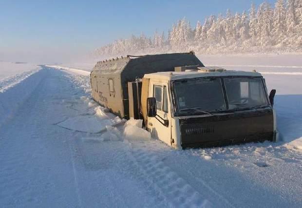 Верхоянськ Росія мороз зима фото