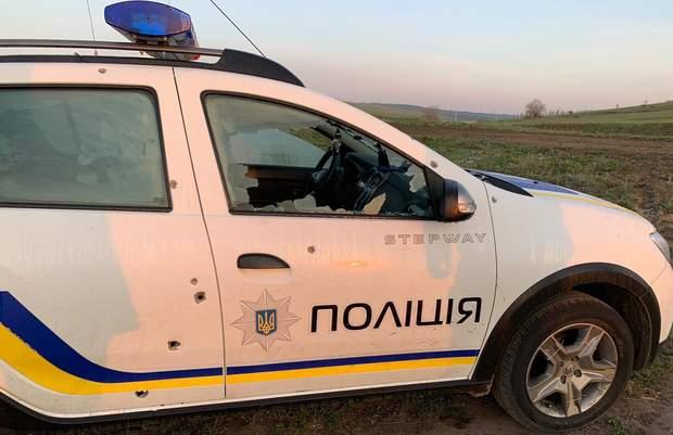 Авто поліція обстріл стрілянина Одеська область