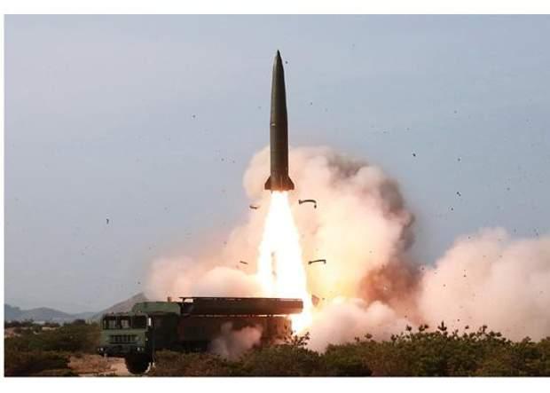кндр ким чен ын учения испытания ракет