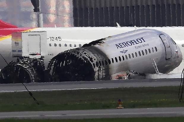 Шереметьєво літак пожежа