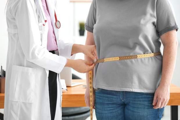 У людини з діабетом 2 типу спостерігається зайва вага
