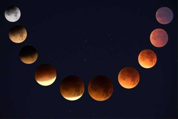 Фази місяця не впливають на психічний стан людини