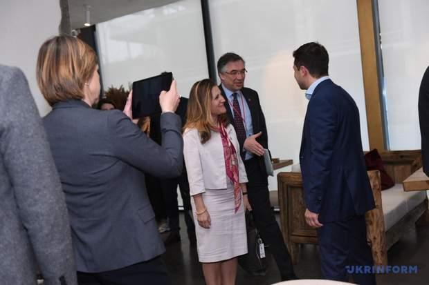 Зеленський зустрівся з Фріланд у Києві
