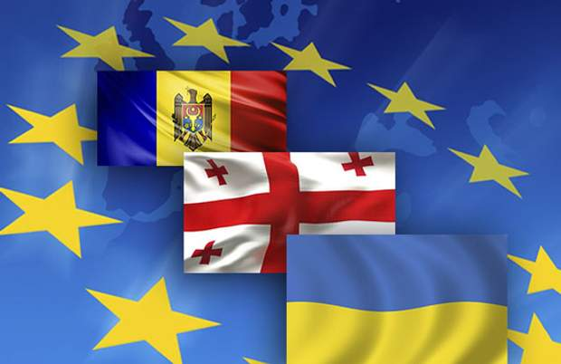 Україна, Молдова і Грузія