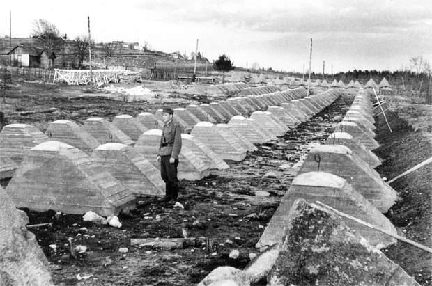 Друга світова війна лінія Маннергейма історія