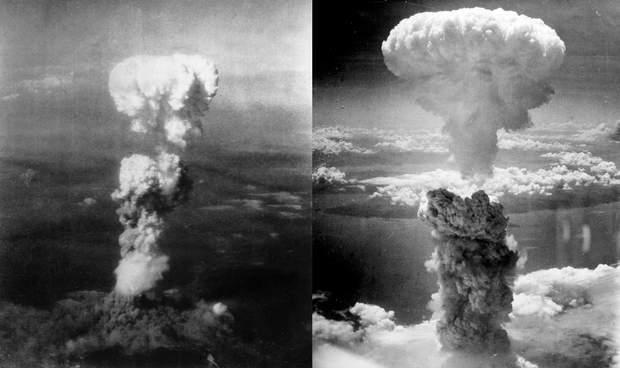 Хіросіма Нагасакі атомні бомби вибухи Друга Світова війна Японія