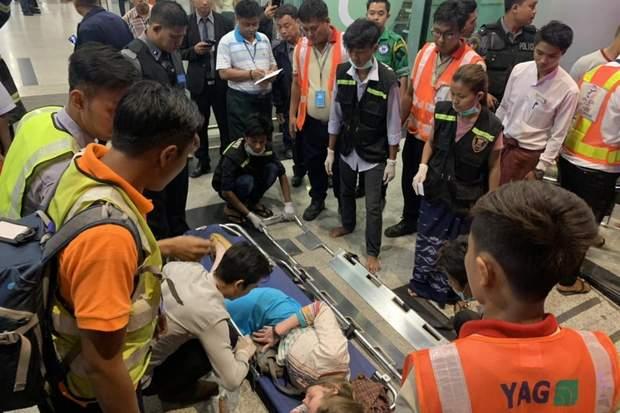авіакатастрофа у М'янмі поранені