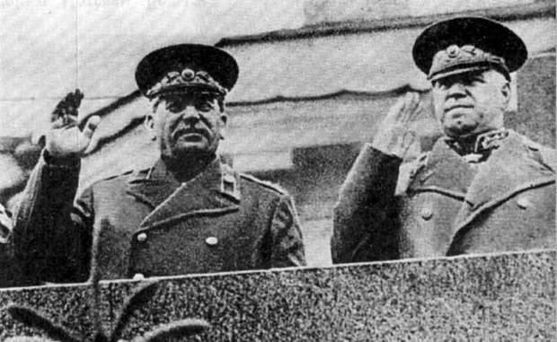 Сталін і Жуков