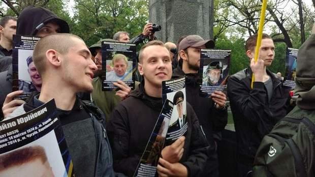 Фото загиблих на Донбасі військових 9 травня Харків