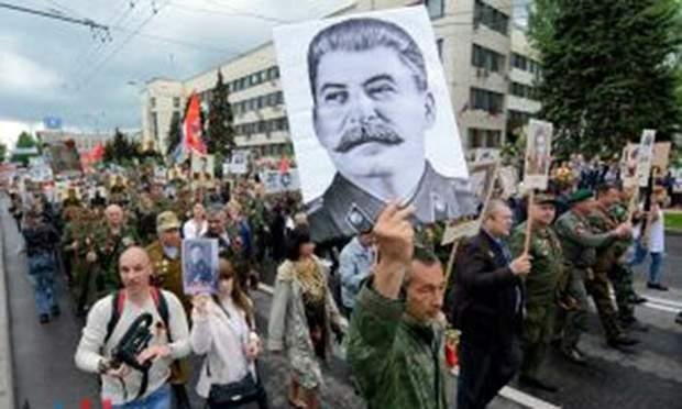 донбас сталін парад