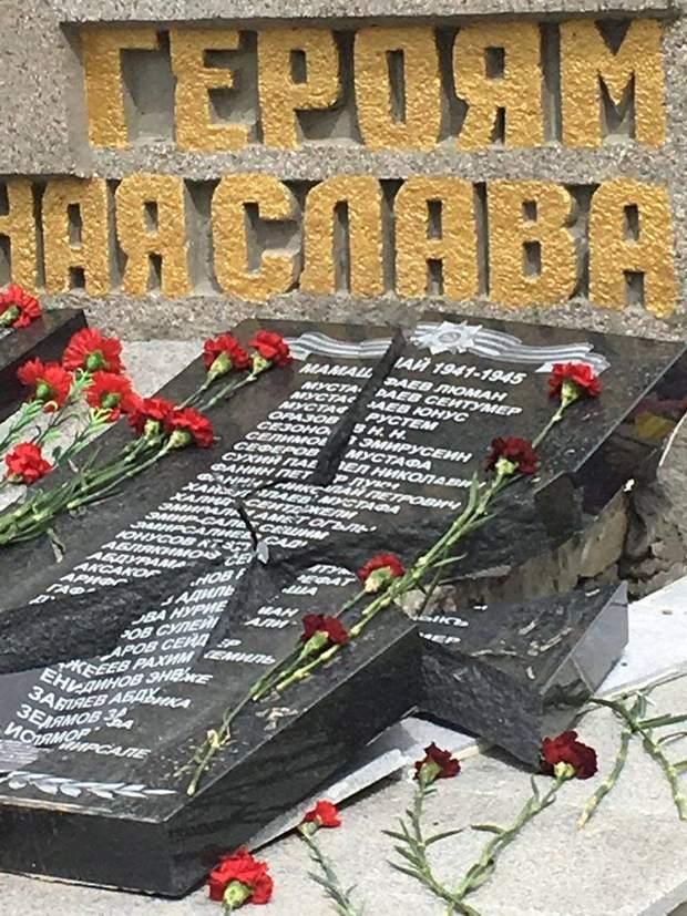 крим пам'ятник друга світова війна вандали