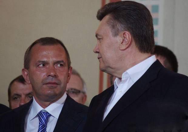 Андрій Клюєв і Віктор Янукович