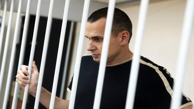 Олег Сенцов за ґратами