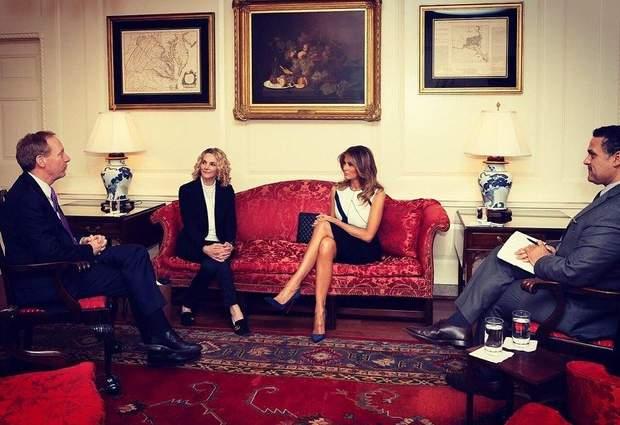Перша леді США на офіційній зустрічі