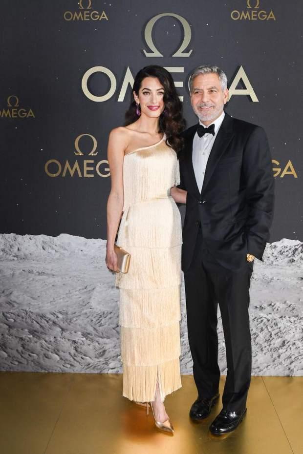 Джордж та Амаль Клуні в Орландо