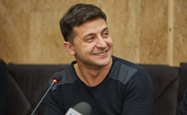 Новообраний президент Володимир Зеленський