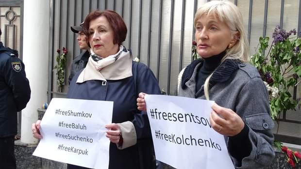 одеса сенцов акція на підтримку сенцова заручник кремля