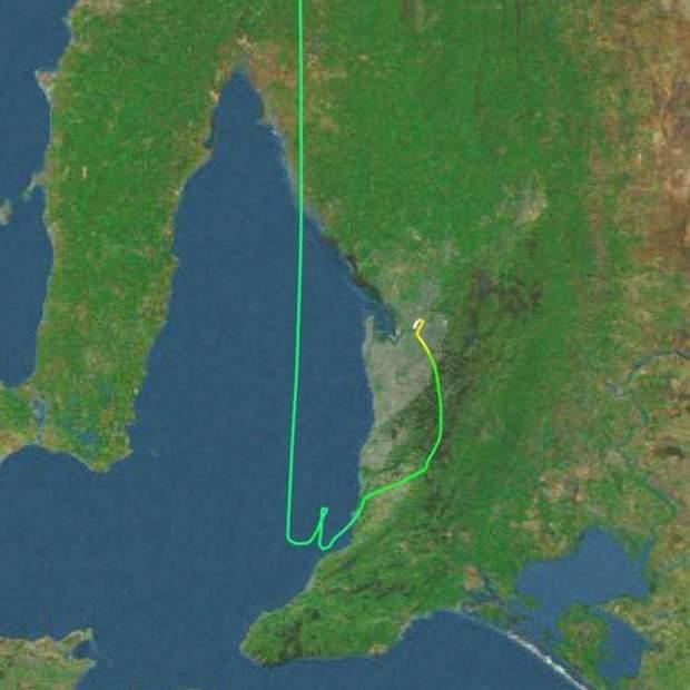 австралія, пілот заснув, авіація