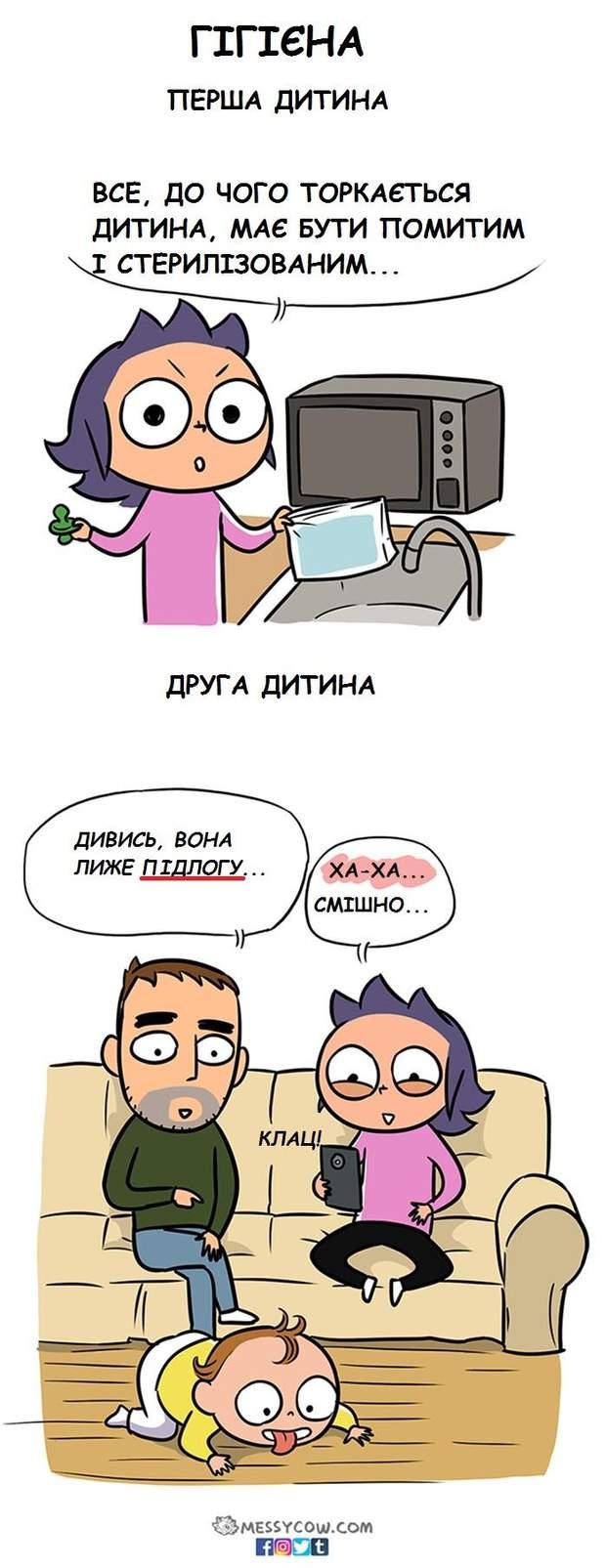 комікси про маму