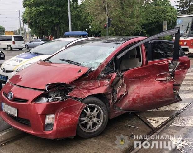 Харків, аварія, трамвай