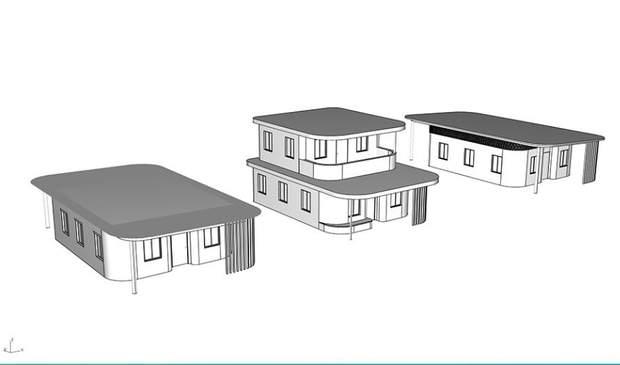 будинки 3D принтер