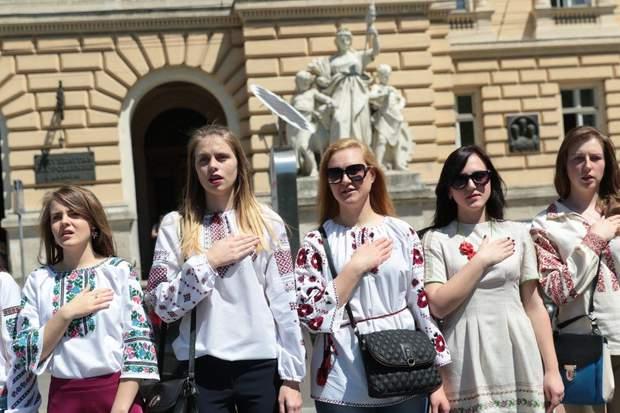 День вишиванки у Львові