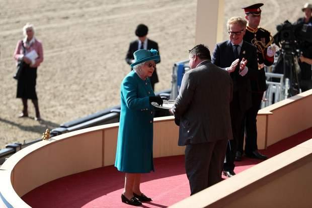 Британська королева Єлизавета ІІ