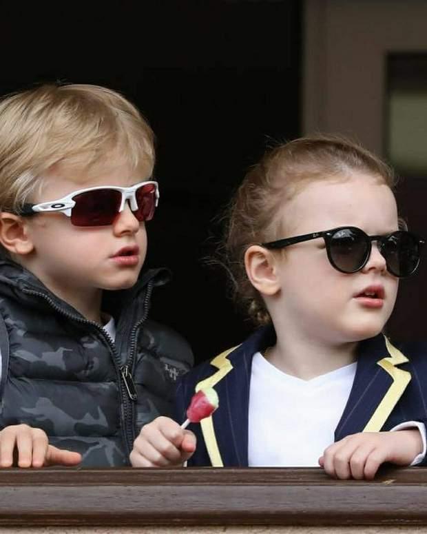 Діти княгині Монако