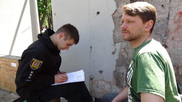 Літній театр Одеса незаконна забудова протести поліція