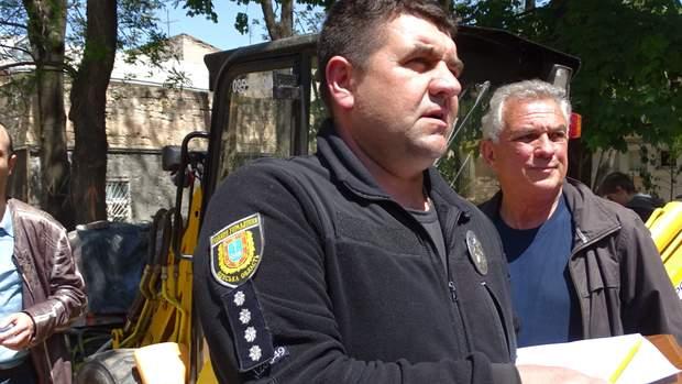 Одеса Літній театр поліція активісти незаконна забудова