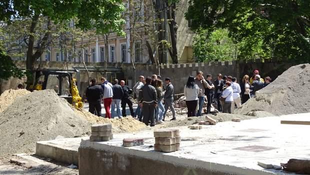 Одеса Літній театр активісти незаконна забудова поліція
