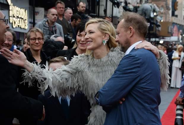 Кейт Бланшетт з чоловіком