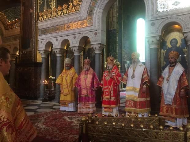 Служба Філарета у Володимирському соборі