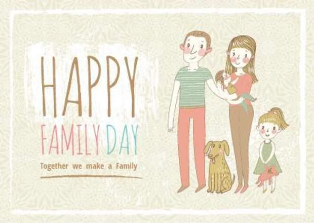 Привітання із Днем сім'ї