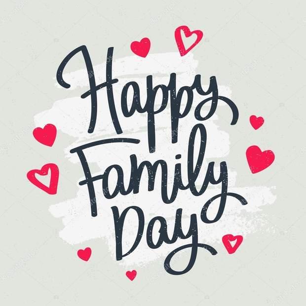 День сім'ї – картинки-привітання