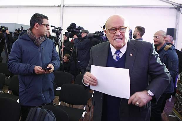 Джуліані, Лещенко, чорна бухгалтерія Партії регіонів