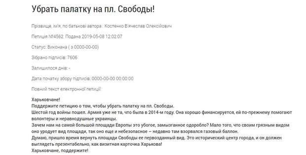 Харків петиція