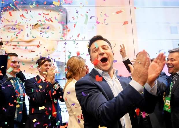 Зеленский победил на президентских выборах