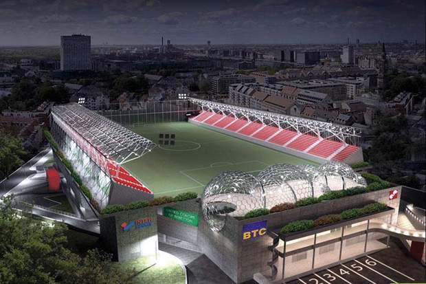 стадіон Белград Сербія ТЦ