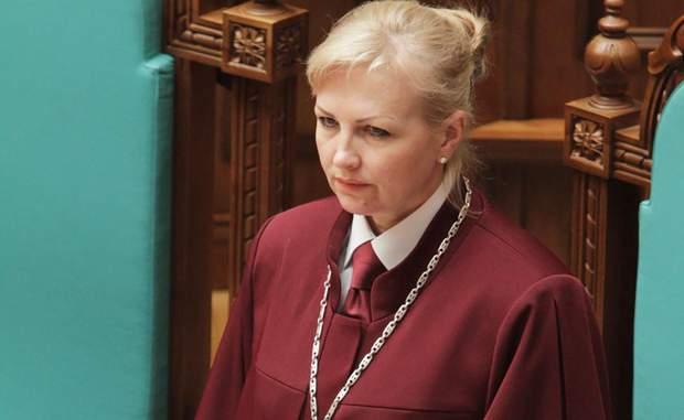 Нова голова КС Наталія Шаптала