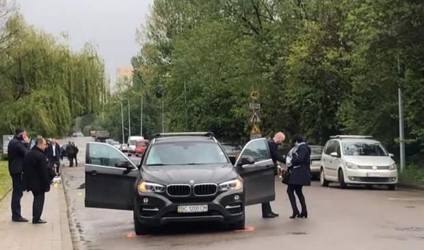 Вибух авто Манзій бізнесмен Львів