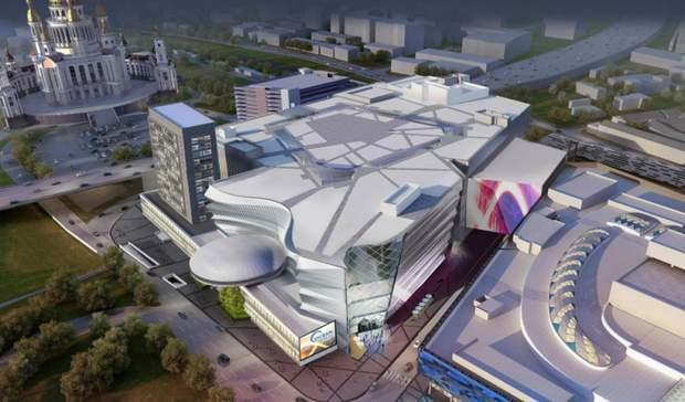 Тарілка Київ реконструкція Ocean Mall Алієв