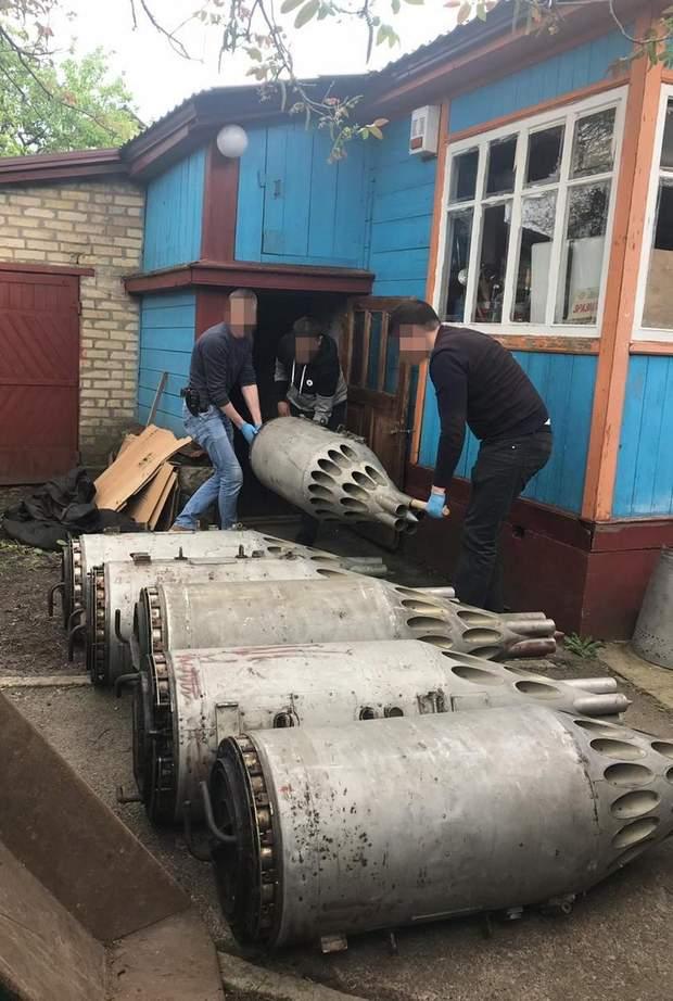 озброєння авіаційне Київщина СБУ