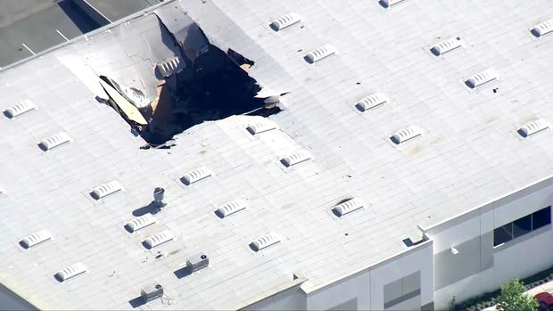 аварія F-16 у Каліфорнії