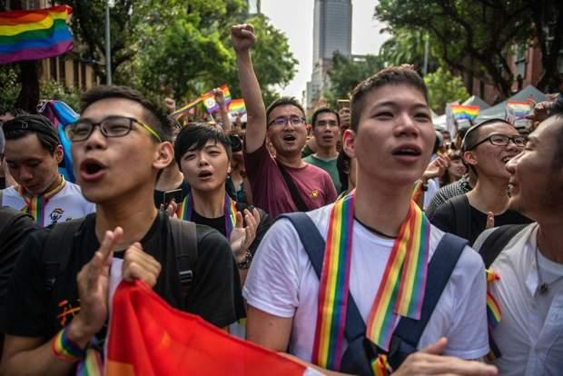 Тайвань одностатеві шлюби закон ЛГБТ