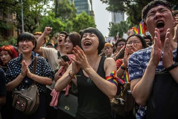 Тайвань одностатеві шлюби Азія реакція людей ЛГБТ