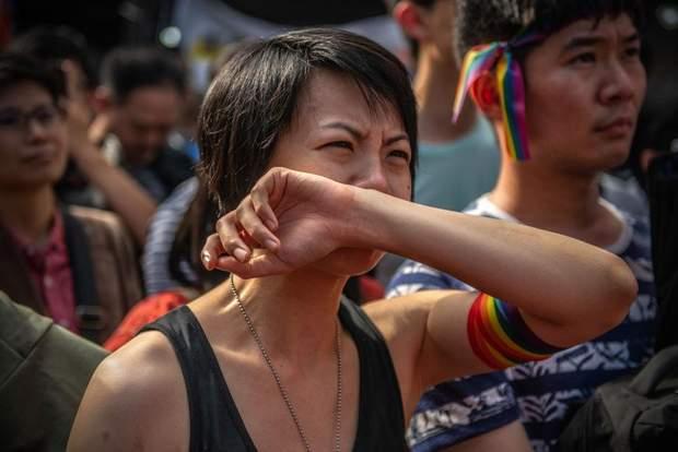 Тайвань узаконили одностатеві шлюби Азія