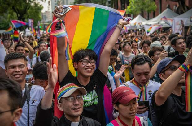 Тайвань одностатеві шлюби легалізація